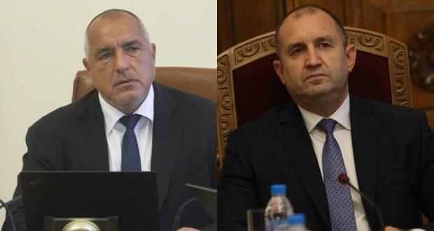 Борисов към Румен Радев: Мутафчийски му лекува хората, а той продължава да размахва юмрук!