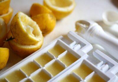 Замразявам лимони и всяка сутрин вадя формичката- такъв лек открих, че го казвам на всички