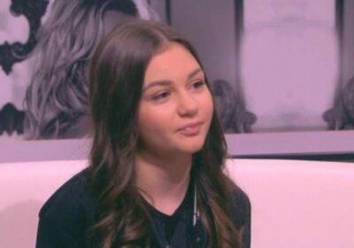 Крисия вече не е дете, а красива млада дама