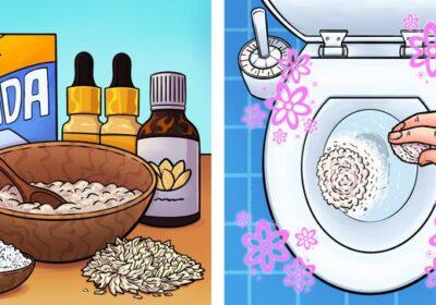 Сложих тези неща в тоалетната и цялото помещение се изпълни с аромат