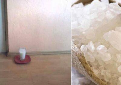 Оставете чаша вода със сол и оцет в дома си и вижте какви невероятни промени ще има само за 24 часа!